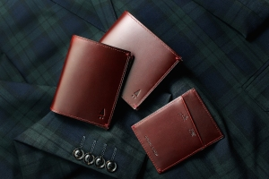 Gnome & Bow's latest range of leather accessories